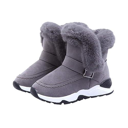 Bebés Niñas Niños Invierno Invierno Botas De Nieve - Suaves Forro de Felpa Zapatos Calientes Moda Antideslizantes Botines Zapatos Planas ...