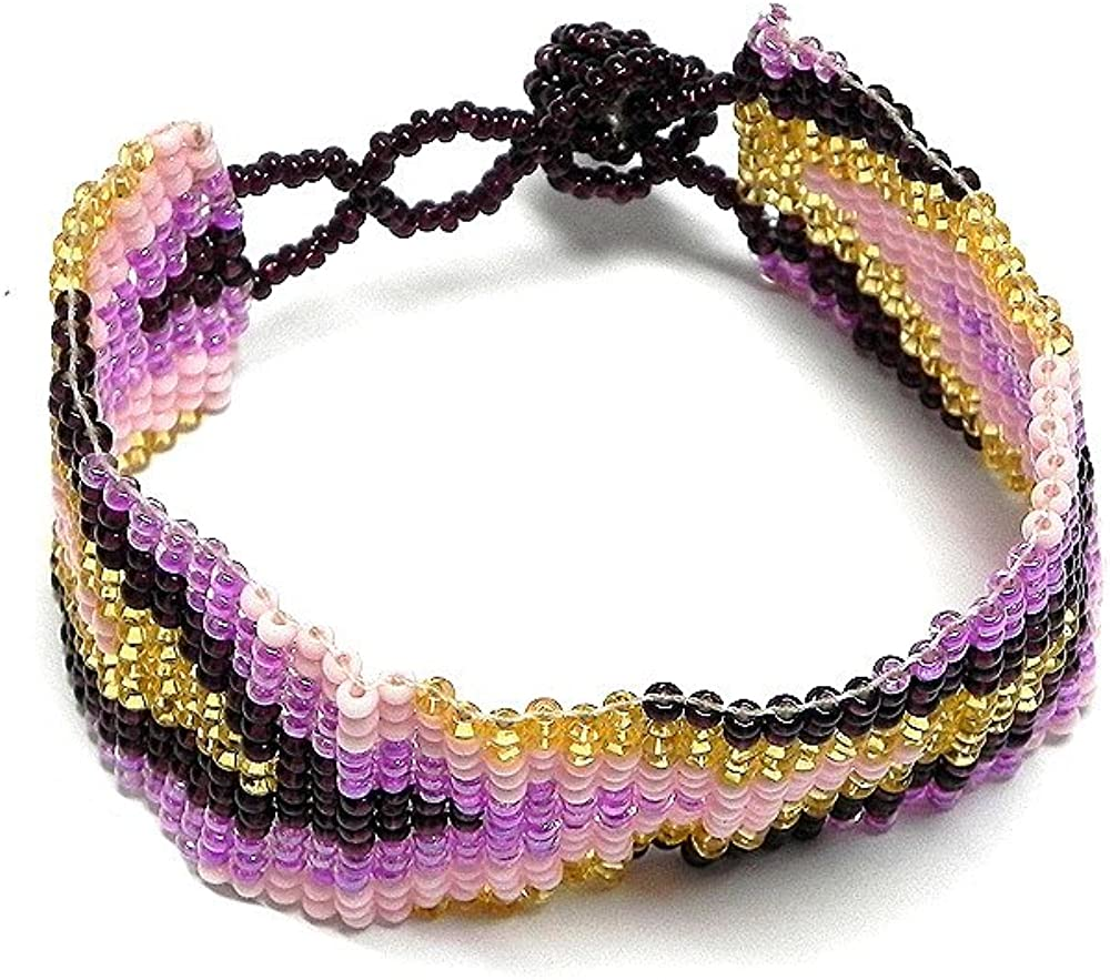 Mia Jewel Shop Seed Bead Star Fringe Dangle Anklet