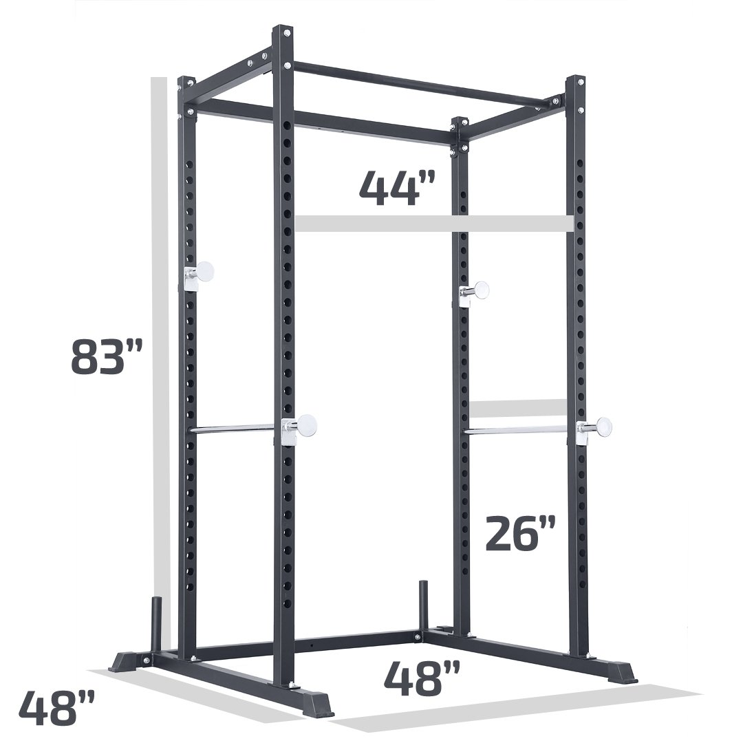 Amazon.com: LILIONGTH Atlas Power Rack Squat Deadlift Cage ...