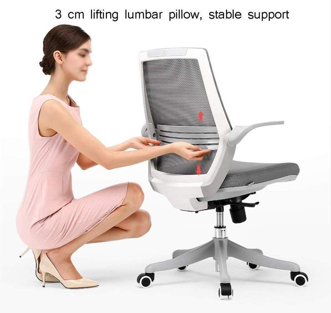 Barstolar Xiuyun kontorsstol spelstol, Executive skrivbordsstol höjd justerbar stol och 360° svängbar hem datorstol, vändbar 90° räcke svängbar stol (färg: Stil1) Stil1