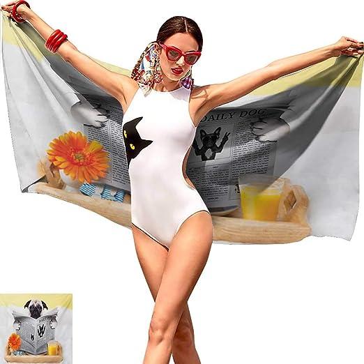 Sillgt - Toalla de Playa, diseño de Perro Ninja con nunchuk ...