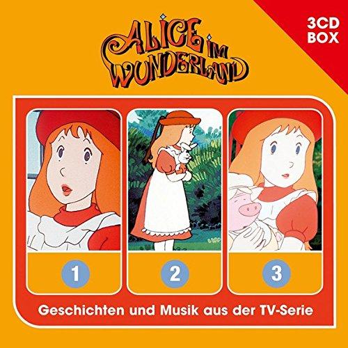 Alice im Wunderland - 3CD Hörspielbox (Studio 100)
