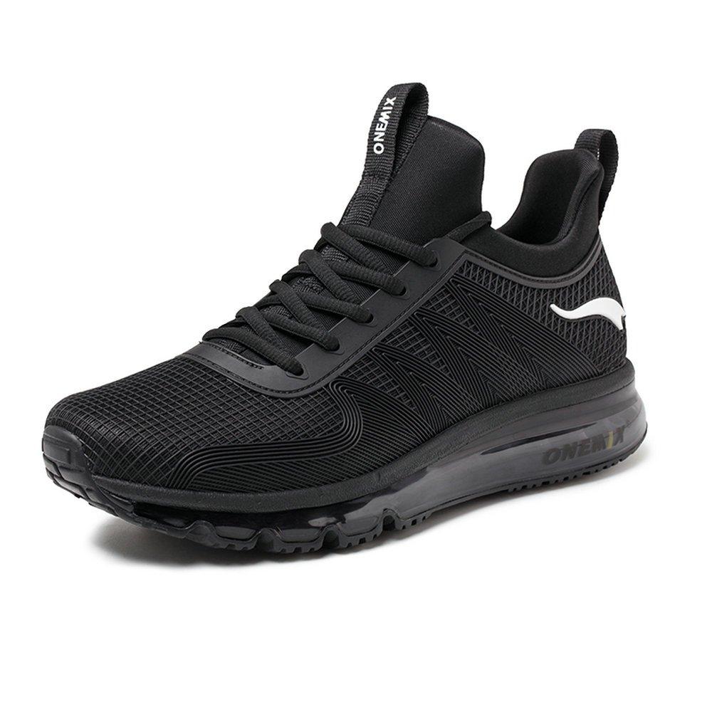 Onemix Air Deportes Zapatillas De Running para Hombre Aire Libre Respirable Zapatos para Correr 39 EU|Negro