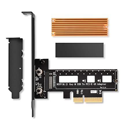 PCIe - NOT Compatible with NGFF or SATA SSDs ORICO M.2 NVMe SSD to PCI Express 2280, 2260, 2242, 2230 Compatible with M2 NVMe PCIe SSDs 3.0 x4 Adapter Card