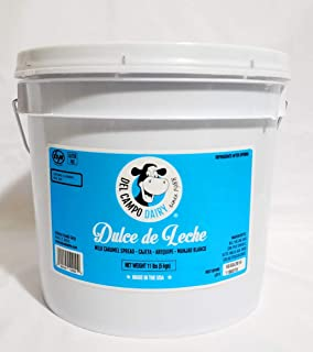 Del Campo Dairy Dulce De Leche Caramel Topping 1 Gal