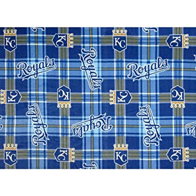 Fabric Traditions Mlb Fleece Kansas City Royals Fabric by the Yard, Multi