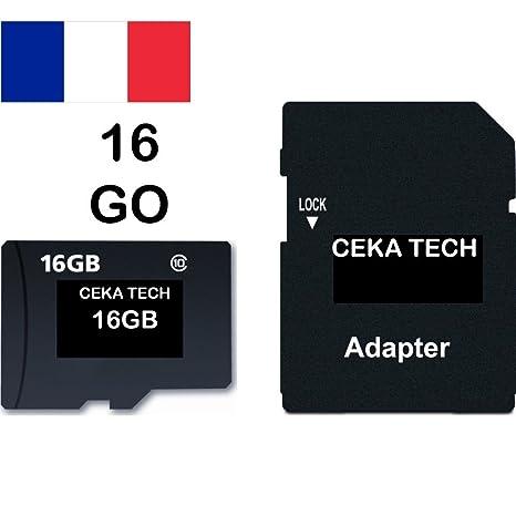 Tarjeta de Memoria LG K4 (2017), CEKA TECH® Micro-SD 16GB ...
