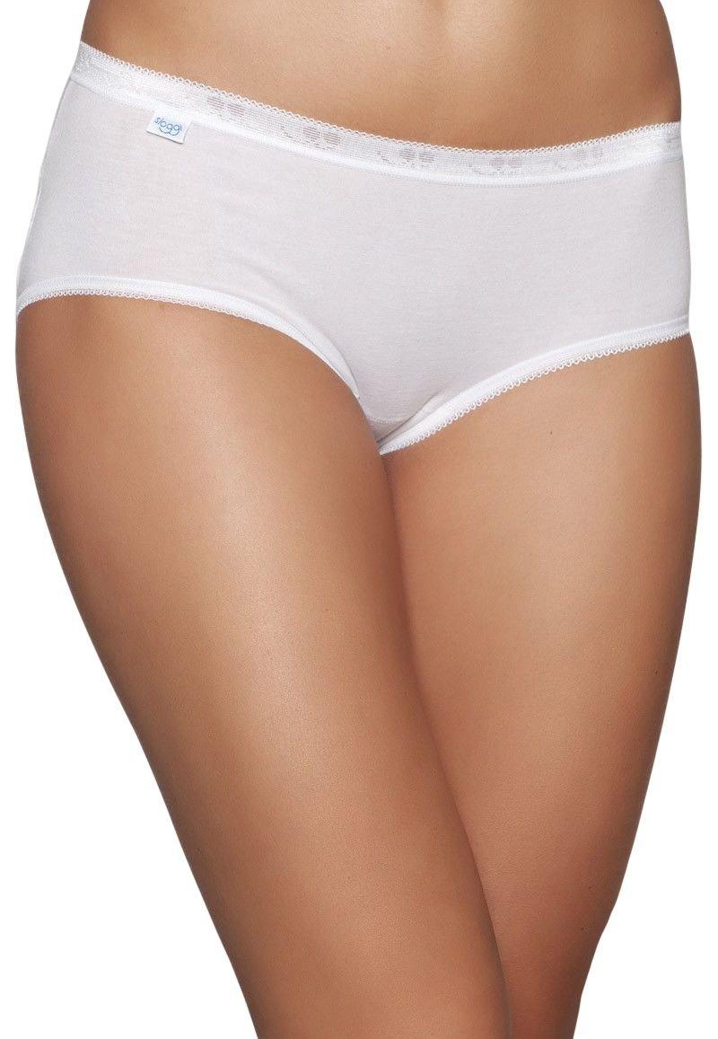 Sloggi Braguita Mujer Basic Midi 8 Pack Color Blanco