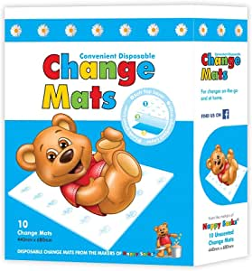 ICD Online Disposable Change 10 Mats, 10 count, Pack of 10