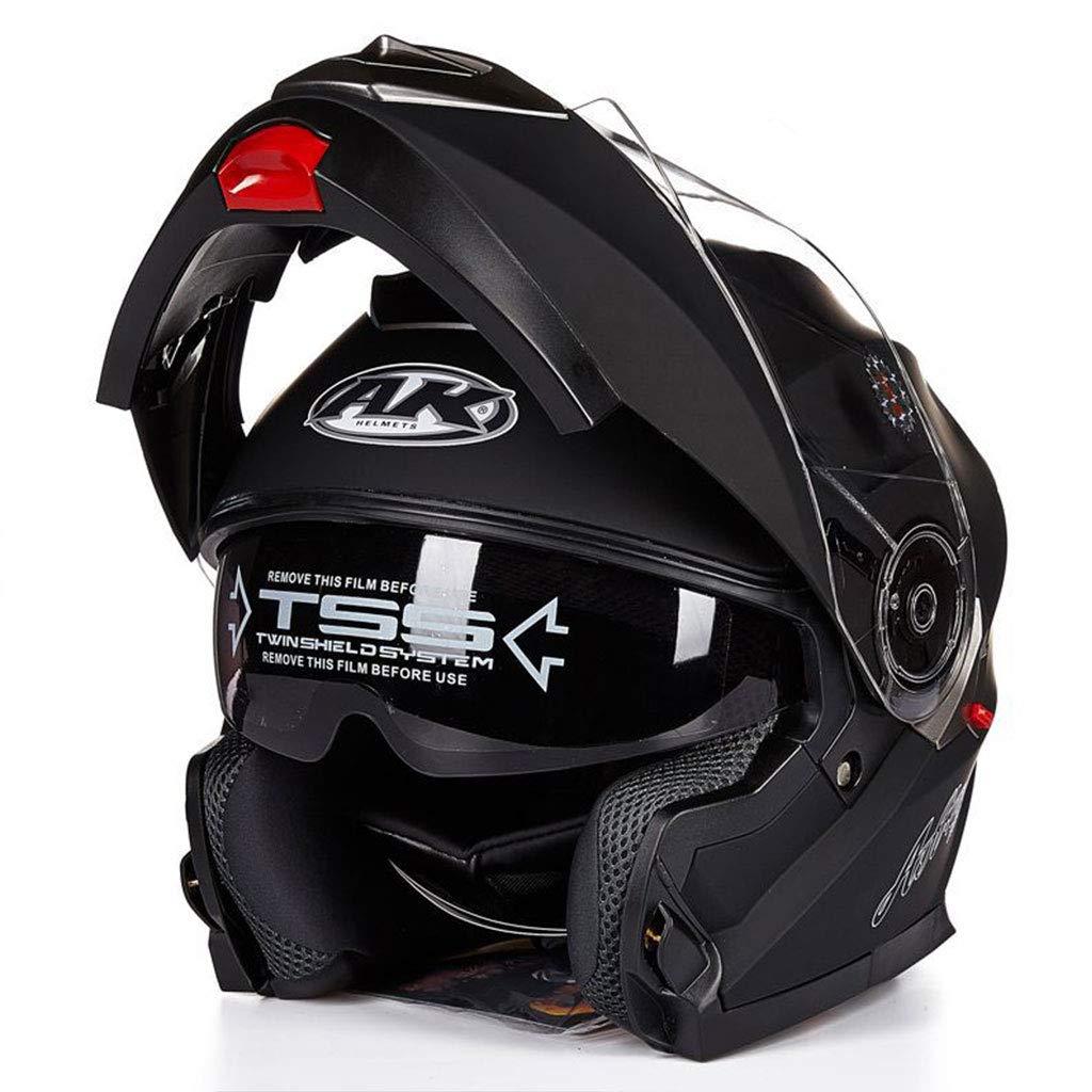 Sportschutzausrüstung- Motorrad Elektrofahrzeug Helm Open Face Helm Double Lens Abschnitt Kombination Helm