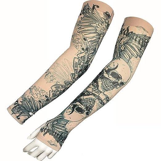 Mangas de Tatuaje, Protector Solar UV Mangas de Tatuaje, Mangas de ...