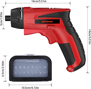 Meterk Cordless Electric Screwdriver 1500mAh featured image 7