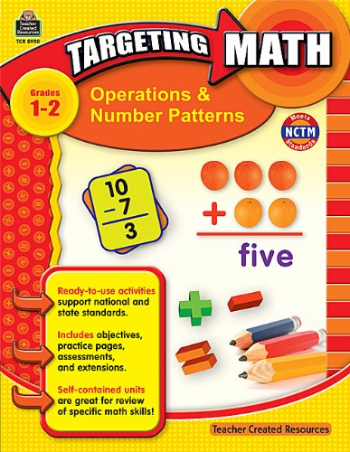Teacher Created Resources 8990 Teacher Created Resources Targeting Math, Operations/Number Patterns, Grade -