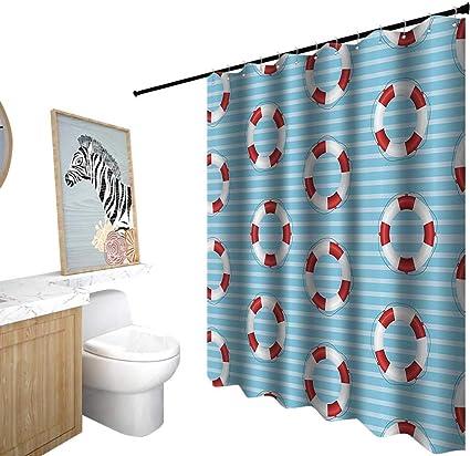 Juego de decoración de baño con cortinas de ducha y alfombras ...