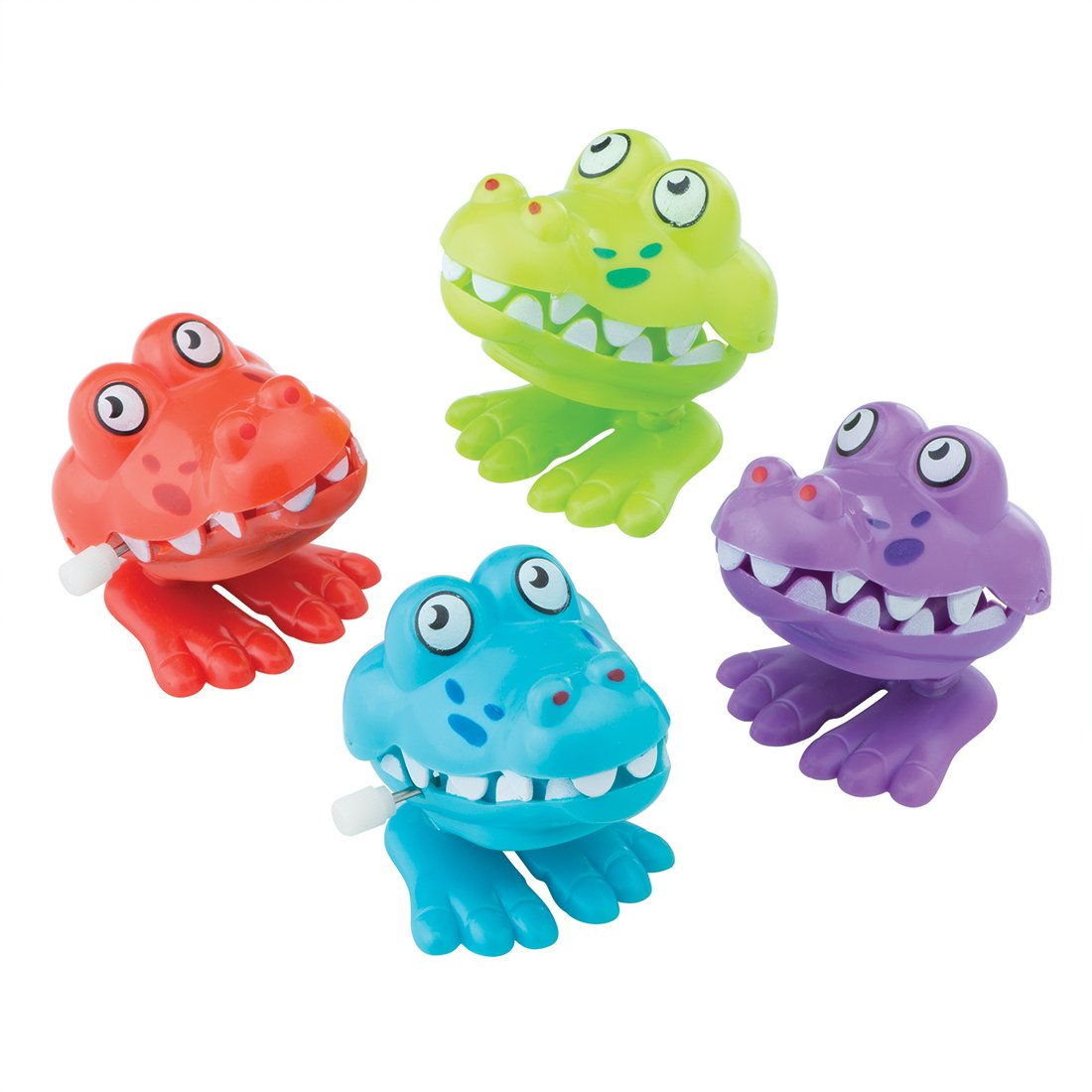 SmileMakers Wind Up Crocodiles - Prizes 24 per Pack by SmileMakers
