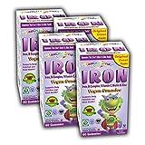 Vitamin Friends Kids Iron Gummies - Vegan, Organic, Kosher, Allergen Free Iron Gummy, Supports Healthy Iron Levels without Nausea or Constipation-4 Pack