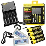 New Package Nitecore I4 Intellicharger 2014 Real New Version All-New Highly Advanced Smart Charger For Li-ion Ni-MH And Ni-Cd Rechargeable Batteries And Apply An Appropriate Charging Mode Constant Charge Current Constant Charge Voltage And Trickle Charge