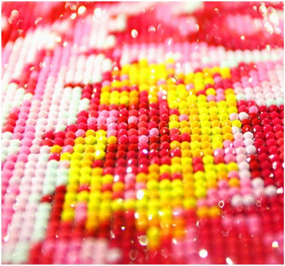 Decorazione a Mosaico Senza Cornice ZSCY Quadro 5D Fai da Te con Diamantini a Forma di Fiore di Loto 40 x 50 cm