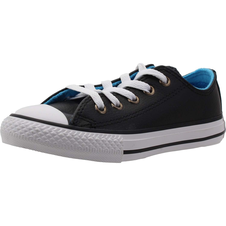 MultiCouleure (noir bleu Hero blanc 001) Converse CTAS Ox, Chaussures de Fitness Mixte Enfant 30 EU