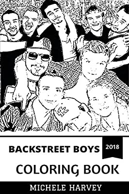 Pop Pioneers and Nostalgia Inspired Adult Coloring Book Backstreet Boys Coloring Book Bestselling Boy Band and Billboard Legends