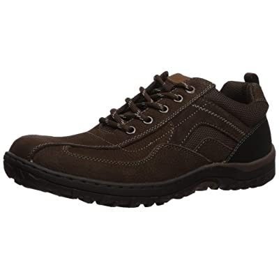 Nunn Bush Men's Quest Bicycle Toe Casual Oxford, Brown, 9.5 Medium | Oxfords