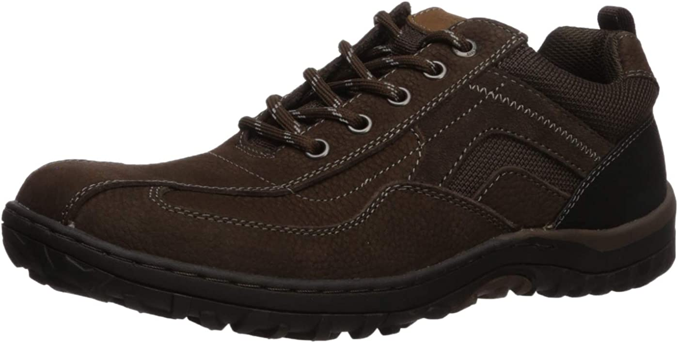 Nunn Bush Men's Quest Bicycle Toe Rugged Casual Oxford