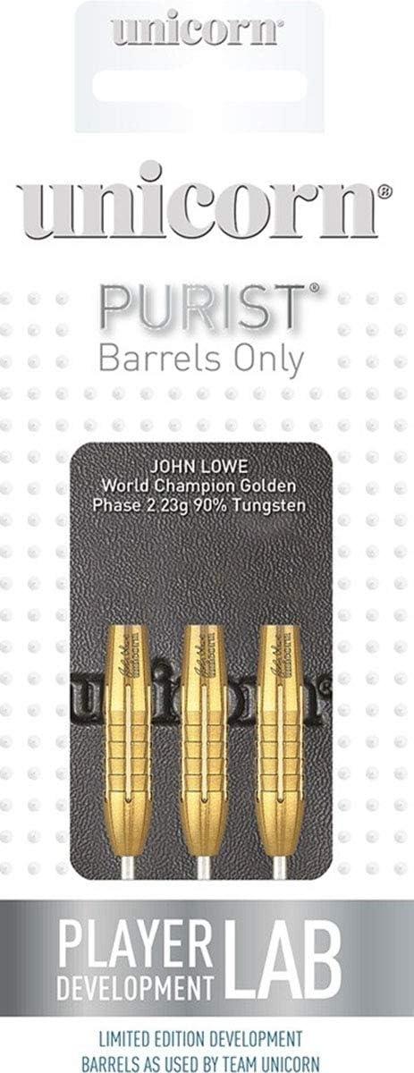 Unicorn John Lowe Darts 21g 23g 25g 27g grams Tungsten Ambassador World Champion