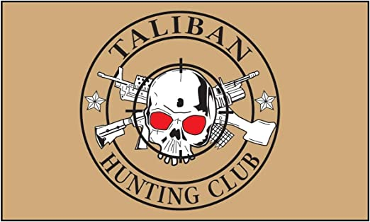 TALIBAN HUNTING CLUB Flag  5ft x 3ft