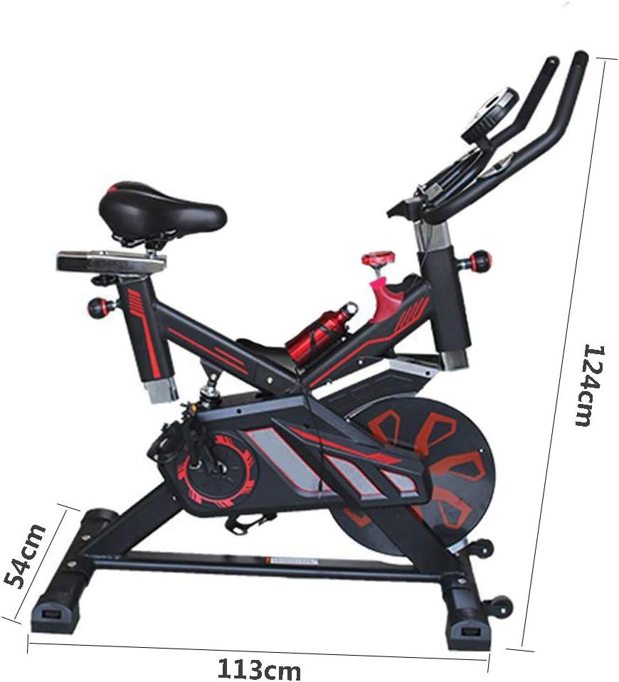 HLeoz Bicicleta Estática, Spinning Profesional con Sensor de Pulso ...