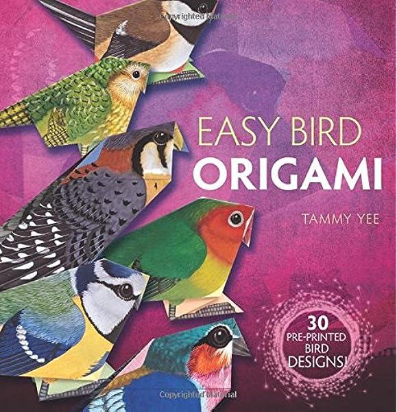 how to make an origami bird easy-a paper bird | 600x579
