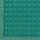 Andersen 280 Waterhog Fashion Polypropylene Fiber Entrance Indoor/Outdoor Floor Mat, SBR Rubber Backing, 4-Feet Length X 3-Feet Width, 3/8-Inch Thick, Aquamarine