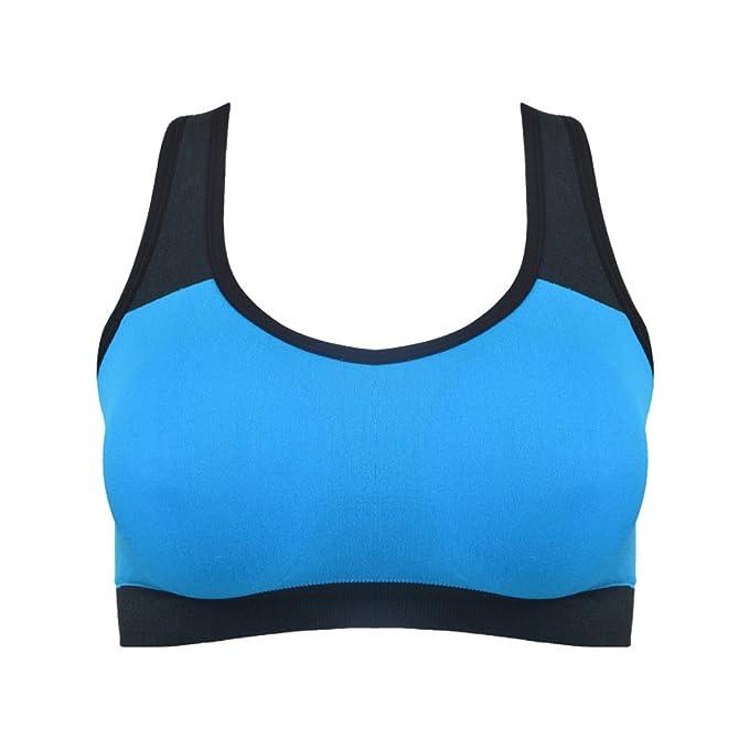 WKAIJCC Mujer Ropa Interior Deporte Sujetador Chaleco Yoga Creativo Funcionamiento Aptitud Salvaje Cómodo: Amazon.es: Ropa y accesorios