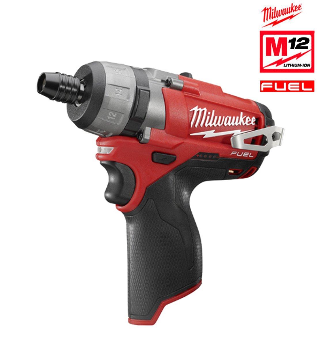 Milwaukee FUEL ohne Akku-Schlagbohrschrauber M12 CD/0, 12 4933440450 Hex 1/4