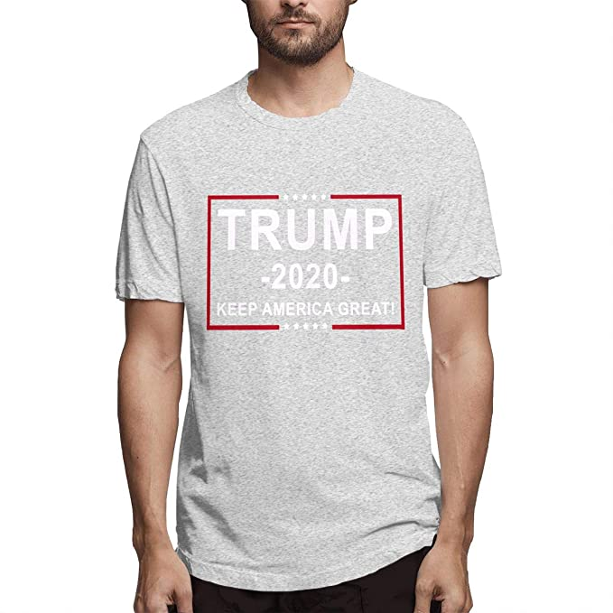 9708164aa Amazon.com: Donald Trump 2020 Election USA Keep America Great Short Sleeve T  Shirt for Adult Youth: Clothing