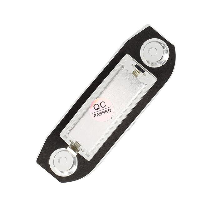 Blue-Yan 2Pcs Number Plate Lights Bulbs CanBus LED License Plate Lamps for Volvo S80 XC90 S40 V60 XC60 S60 C70 V50 XC70 V70