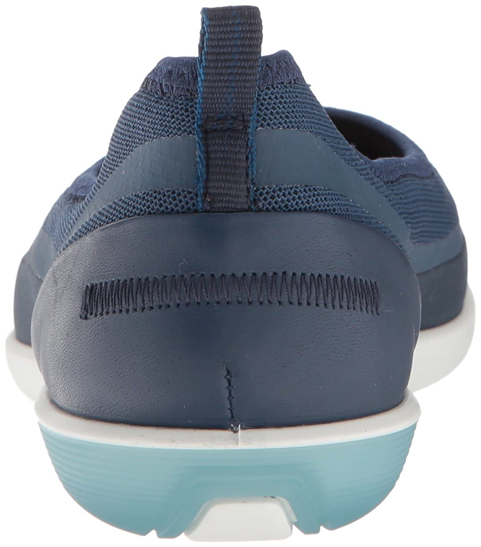 Ecco Blau Damen Sense Geschlossene Ballerinas Blau Ecco (True Navy/True Navy) c33cfb