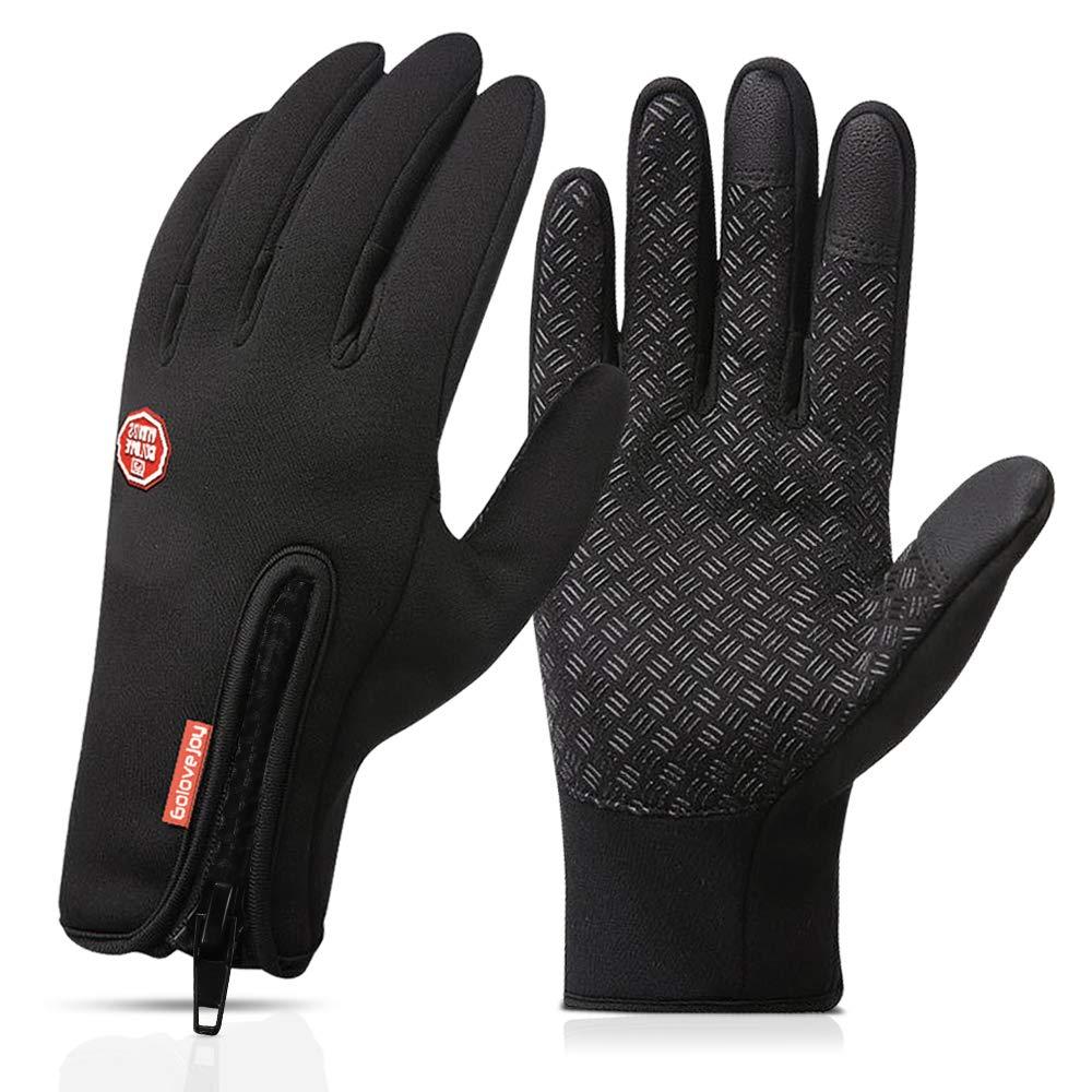 Nahsaria Gants d'écran Tactile,Gants Chauds d'hiver Coupe-Vent et Imperméables pour Les Sports de Plein Air (Hommes et Femmes) product image