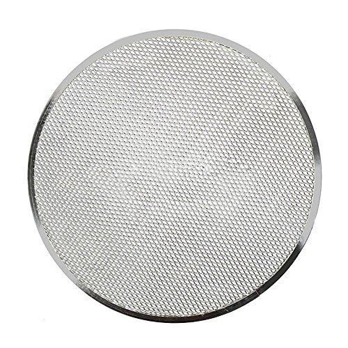 Bandeja de horno para pizza, de aluminio de malla plana, bandeja para horno de pizza, bandeja para pizza de 15,24 cm a 35,56...