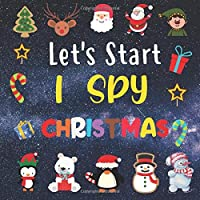 Let's Start I Spy Christmas: Perfect Game Book