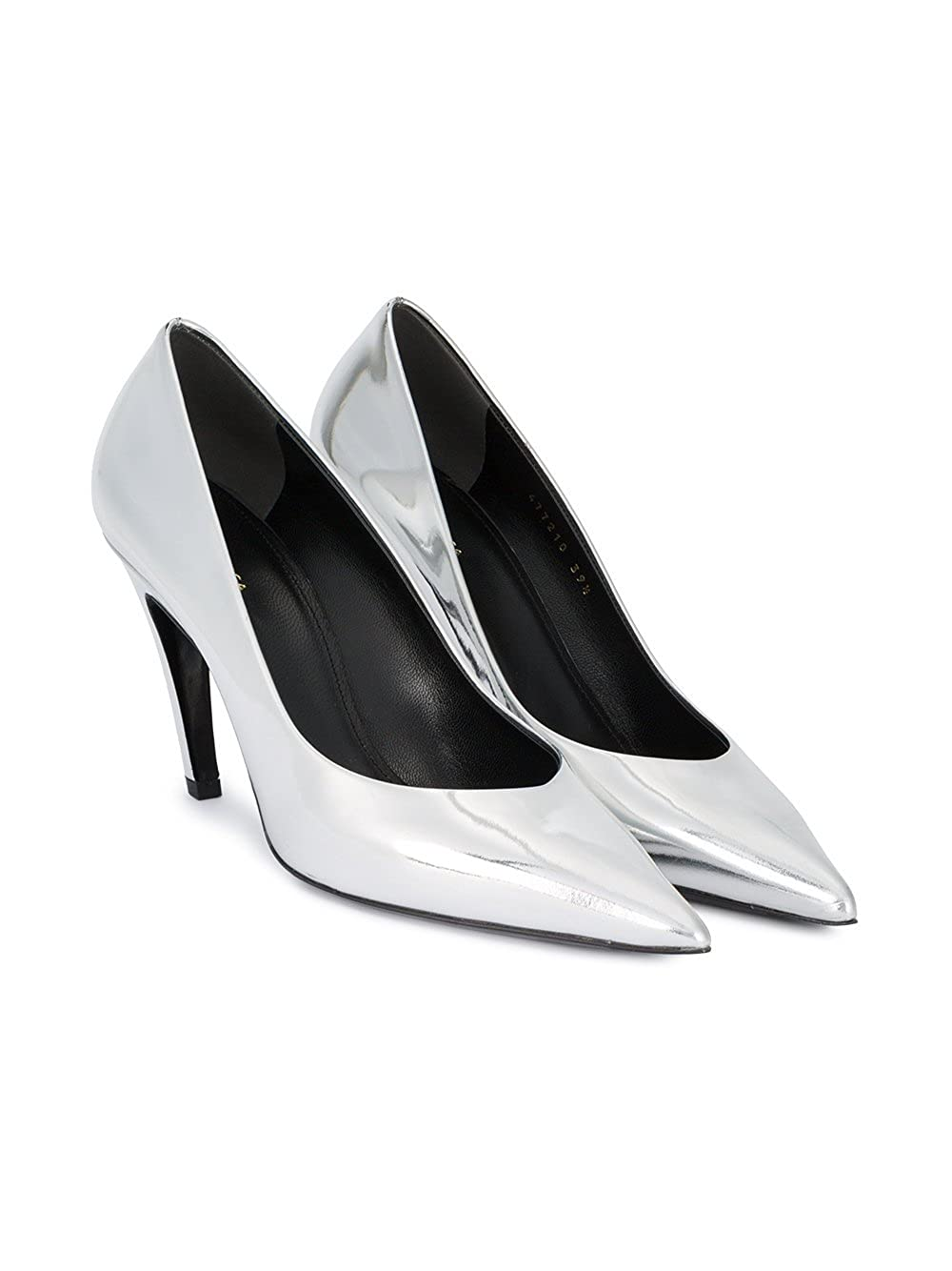 Balenciaga Damen 477210Wa0v08106 Silber Leder Pumps  Amazon.de  Schuhe    Handtaschen 9774b65fb6