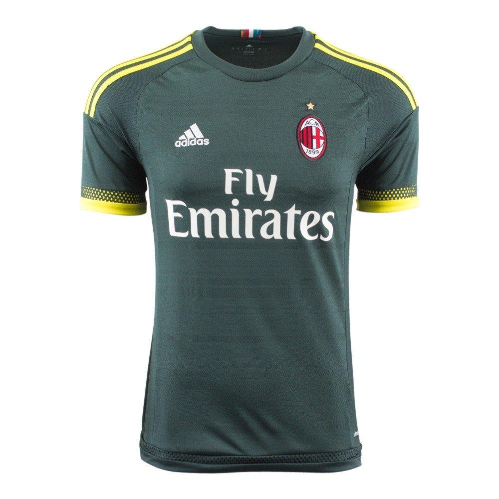 09e7d5ab1 Amazon.com   adidas AC Milan 3rd (Third) Soccer Jersey   Sports   Outdoors