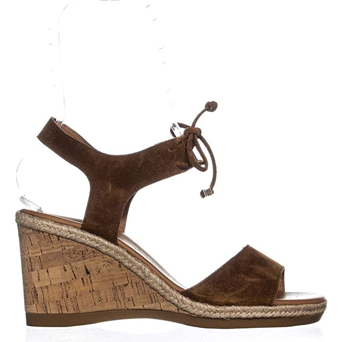 3f4f0154ee1 Paul Green Womens Melissa Suede Cork Wedge Sandals: Amazon.ca: Shoes ...