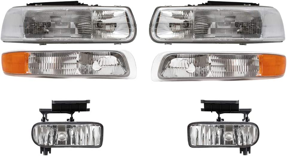 AUTOANDART Aftermarket Replacement Headlights