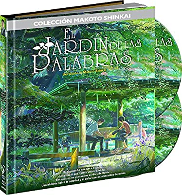 El Jardín De Las Palabras.Digibook. Blu-Ray [Blu-ray]: Amazon.es: Animación, Kenichi Tsuchiya, Animación: Cine y Series TV