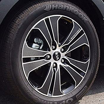 """2015~on Carbon Tuning Wheel Mask Sticker For Kia ALL New Sportage 19/"""""""