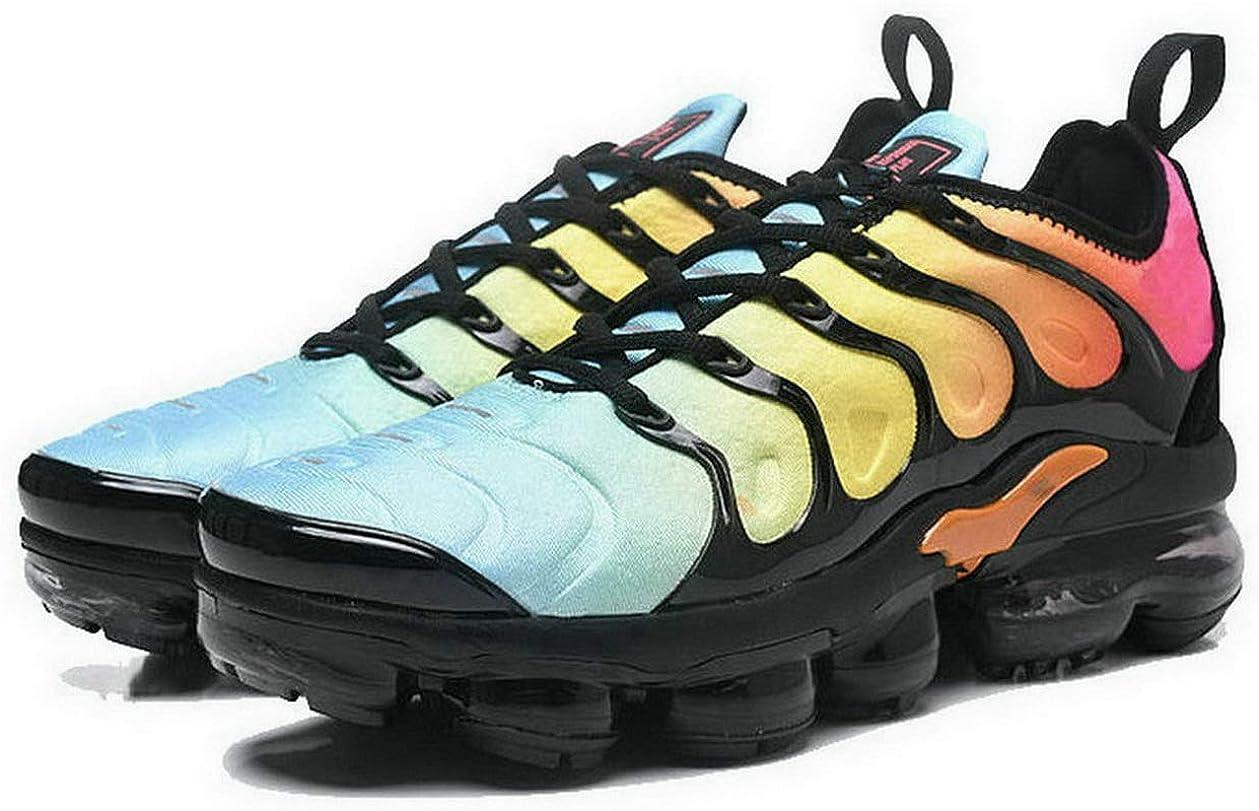 Chaussures de Sport Baskets Mode Basses Outdoor Running Sneakers Gymnastique Femme Homme Blue Orange