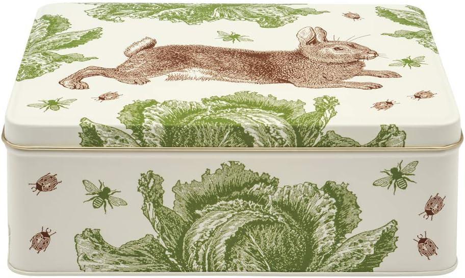 Thornback & Peel TP2670 - Rabbit & Cabbage - Rectangular Tin