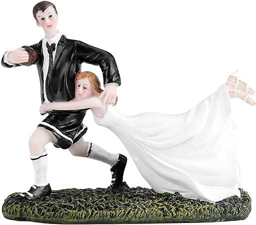Figurine Decoration En Resine De Mariage Gateau D Amour Topper Wedding Cake Moderne Romantique Faveur De Mariage Et De La Decoration Figurine De