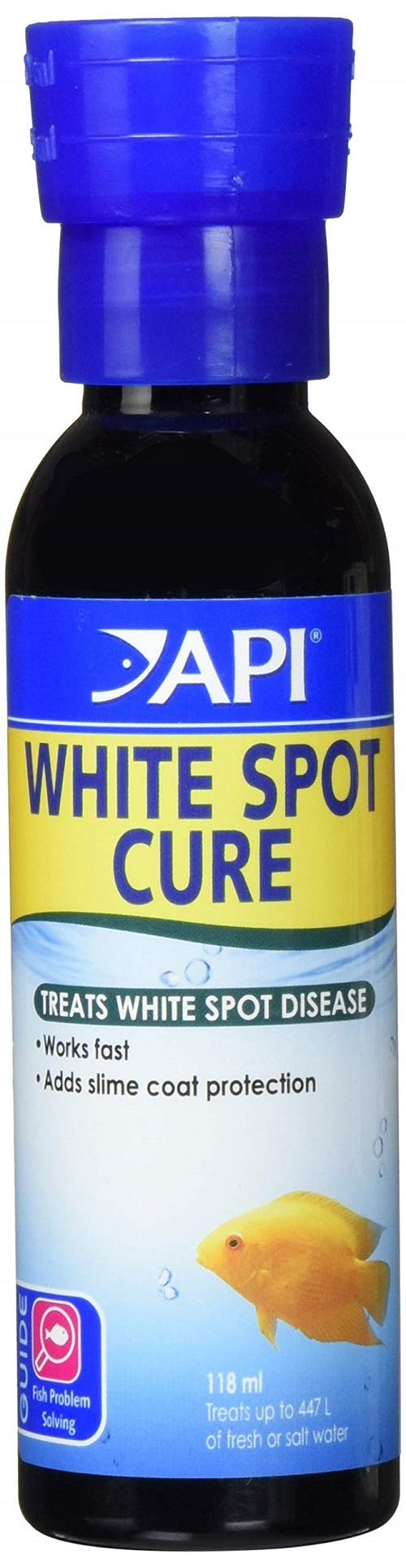 """API SUPER ICK CURE Fish remedy, Quickly treats """"ich"""" white spot disease, Use when symptoms of ich diseases appear"""