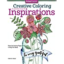 Creative Coloring A Second Cup of Inspirations: More Art Activity Pages to Help You Relax